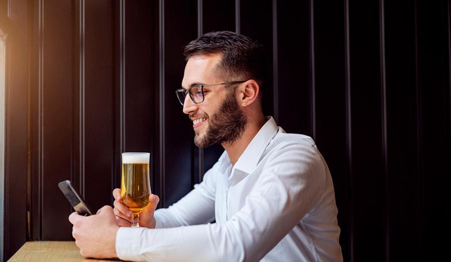 Краткосрочное влияние алкоголя на глаза